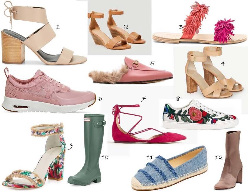 Spring Shoe Edit 2017